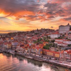 Europe_Portugal_Porto_View of the City and Douro River at Sunset_APT_20319155L_d_LR